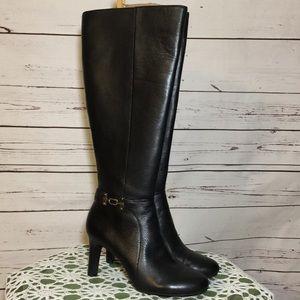 5420ac929900 Women s Black Bandolino Wide Calf Boots on Poshmark